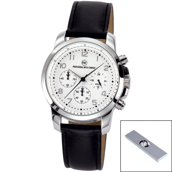 Chronograph ´Kentucky light silber´